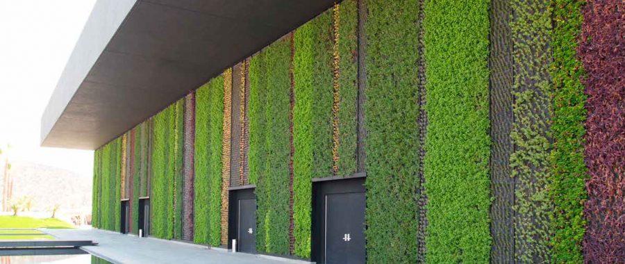 La ltima tendencia en arquitectura muros verdes radio for Muros verdes arquitectura