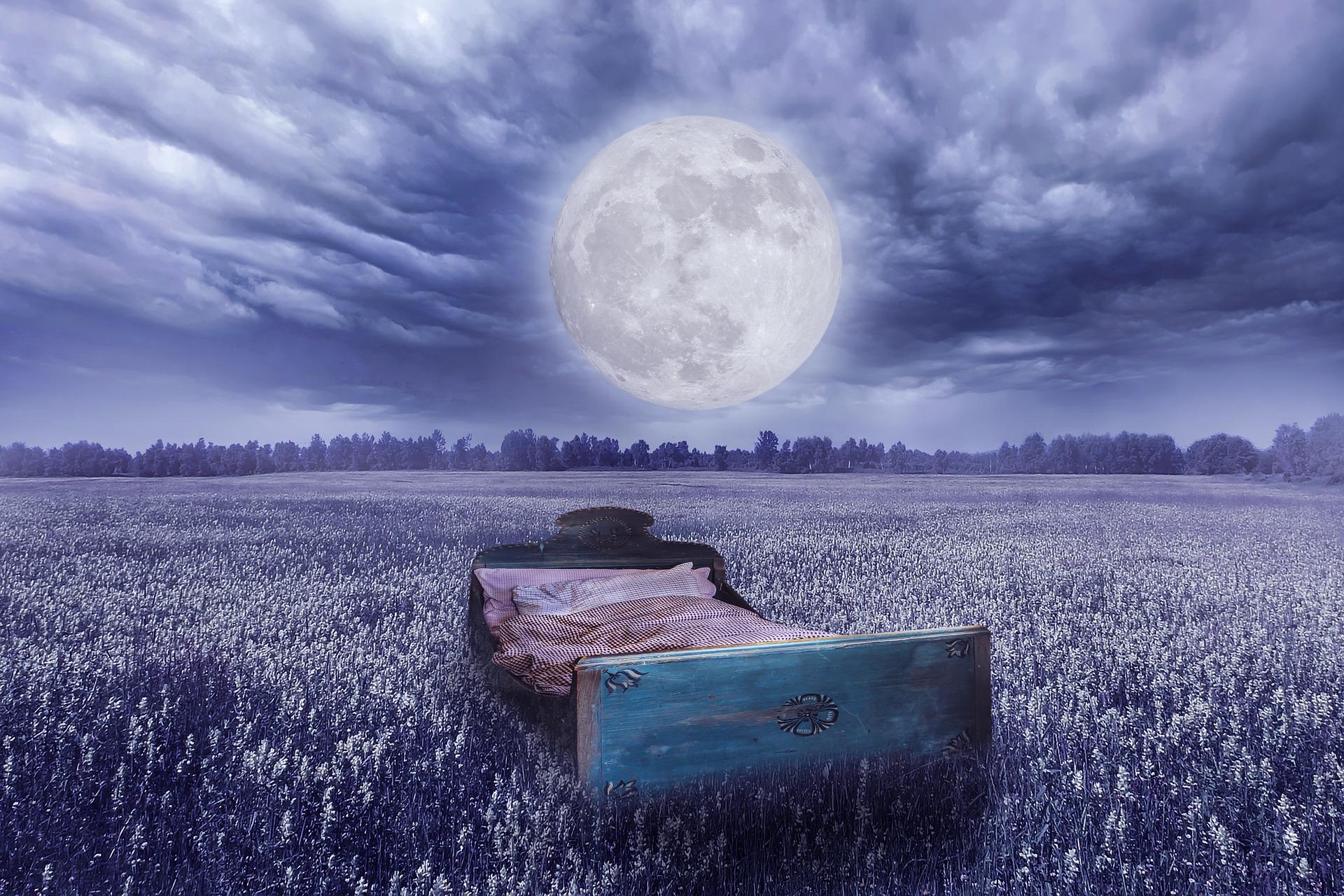 luna llena sueño dormir