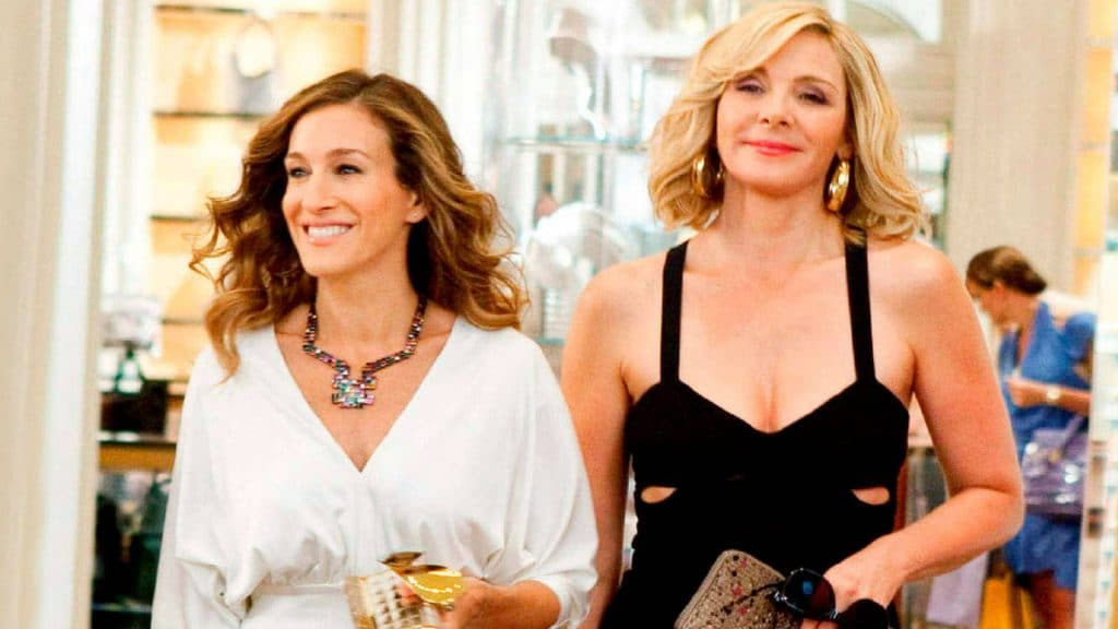 sarah jessica parker y kim cattral sex and the city