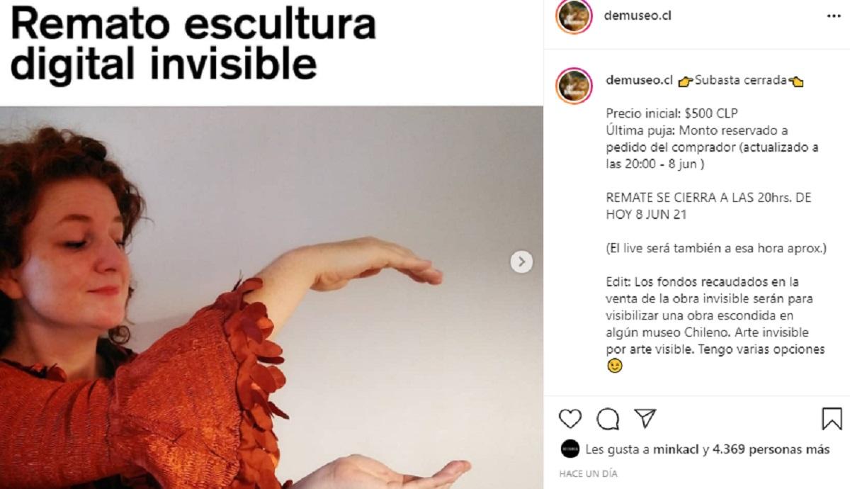 Diseñadora Chilena Escultura