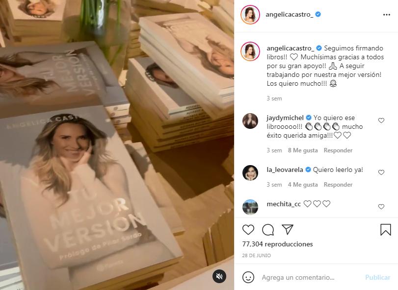 Angélica Castro nos presenta su nuevo libro Tu mejor versión