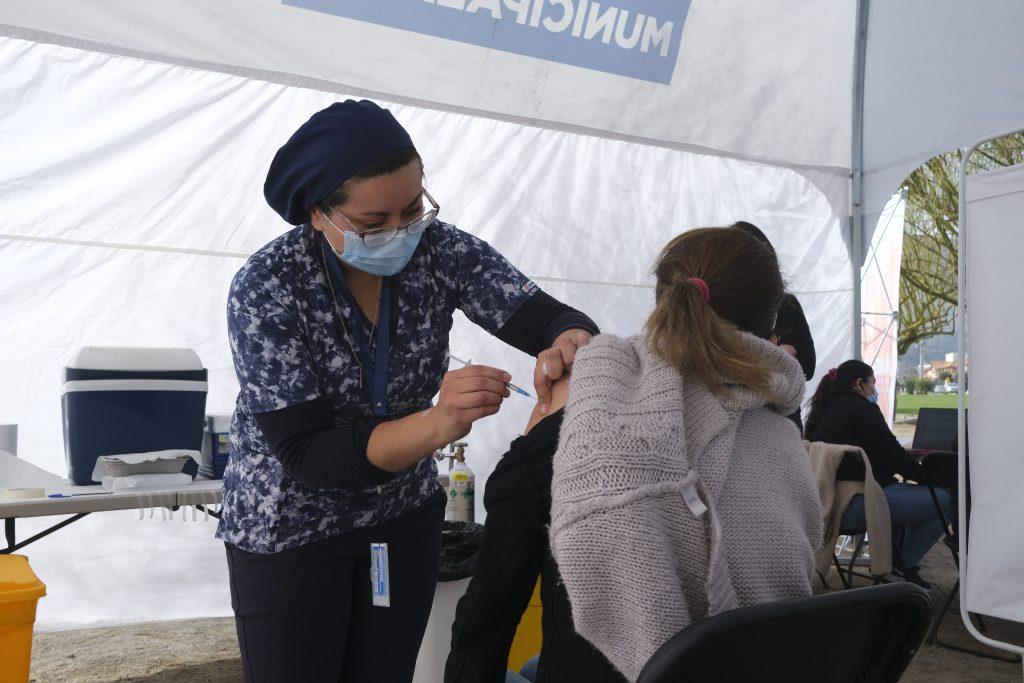 Vacunacion Primera Dosis Puente Alto