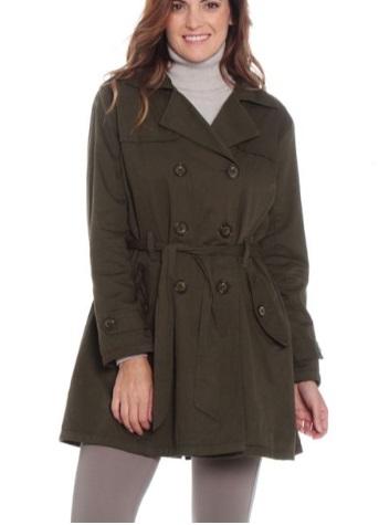 chaqueta verde Wados