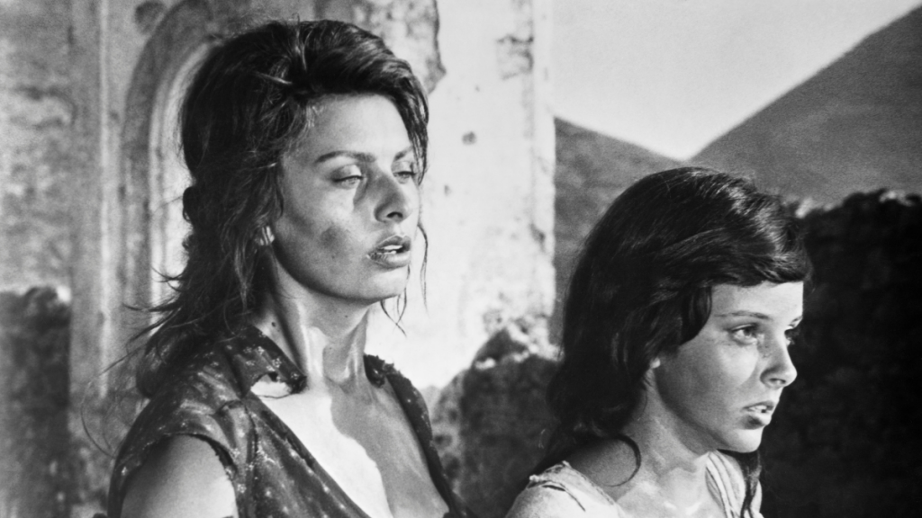 Sofía Loren Dos Mujeres