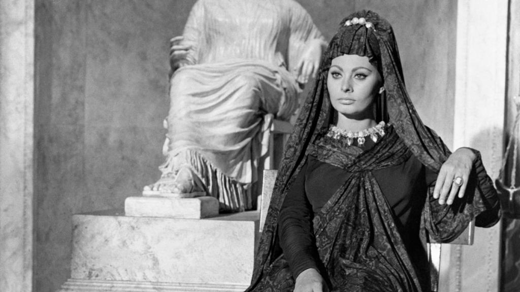 Sofía Loren La Caída Del Imperio Romano